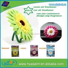 EU various design flower air freshener with various aroma