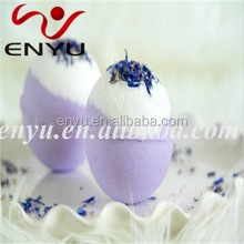 Bath bombs with herbal ingredients for perfect skin care expierence