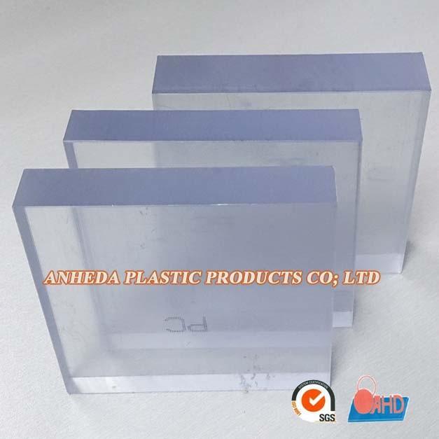 Pl stico transparente r gido pc placa de policarbonato - Placa policarbonato transparente ...