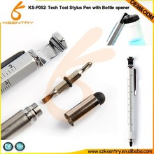 High quality promotional multi tool pen/novelty promotional tool pen/triple function pen