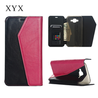 fashinable and exquisite design book style flip cover for samsung galaxy j7, j7 cover