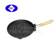 cast iron fry pan with removable handle ,frying pan with long handle
