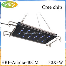 led reef lights programmable 3w chip chinese led aquarium No dead Angle of 360 degrees
