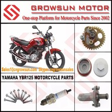 Yam. YBR125 Motorcycle Parts/Oil Pump/Chain Guide/Spark Plug/Valve Cap