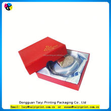Customized printed Ausgezeichnet Delicate Popular Paper Jewelry Box Package
