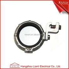 Wiring electrical conduit connecting rod bushing