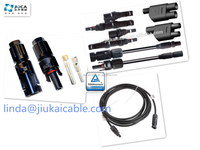 TUV Solar Power MC4 connector with copper Ag plated multi contact mc4 connector