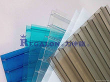 Anti fog greenhouse roofing polycarbonate hollow sheet