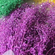 0.4M Wholoesale artificial living room dried violet flowers for decoration and wedding christmas decoration