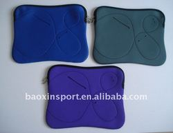 neoprene laptop sleeve with front pocket