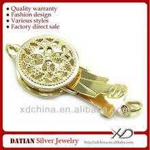 xD k015 kopçalı 14k altın takı mücevher kutusu