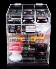 acrylic clear drawer organizers