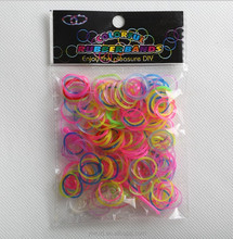 GD010 Colour mixture DIY FASHION ,fun loom rubber band new design