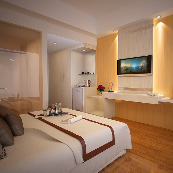 progetto mobili camera da letto armadio e letto matrimoniale-Letto ...