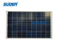 Suoer Poly Solar Panel 18V Solar Cell Module 100w Polycrystalline Solar Cells for Sale