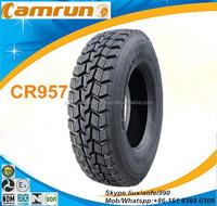 2015 top quality brand CAMRUN heavy duty radial truck tire 1000r20 1100R20 1200r20 1200r24 315/80r22.5 11R22.5 11R24.5 for sale