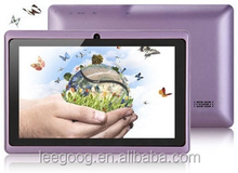 tablet pc Q88 allwinner A23 dual core two cameras with wifi