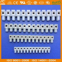 10A Wire Connector 12 Way Plastic Barrier Terminal Block Electrical Connector Strip