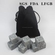 Ingrosso più venduti su misura naturale pietre di marmo raffreddare whisky/whisky pietra
