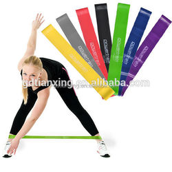 power traning latex exercise resistance bands exercise equipment