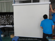 sunscreen roller curtain with motor and cover