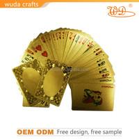 custom 100% plastic playing cards