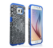 Silicone Cover Rubber Print Phone Back Case for Samsung galaxy s6