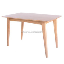 North American Solid Oak Wood Dining Table