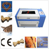 2015 hot selling wood arcylic leather laser paper cutting machine 600*400mm