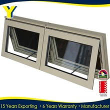 Office/bathroom sliding/awing glass window Aluminium Window Double Glazed Windows Aluminium Windows and Doors Comply with AS2047
