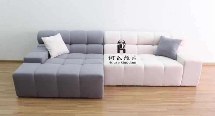 tufty por sofá de la tela de lana