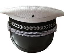 OEM Customized Military Peak Caps   Embroidered military peak cap with badge   military navy air force peak cap