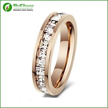 wedding accessory rose gold vintage wedding/engagement rings for women wholesale jewelry