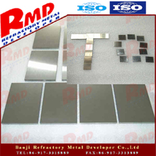 ASTM B708 hot rolling tantalum plate for capacitor