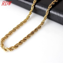 2015 New Gold Chain Design For Men Fashion Motorcycle Chain 316L Stainless Steel Gold Chain
