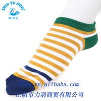 OEM Socks Logo Striped Cotton Socks China Custom Socks Warehouse