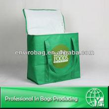 Roomy Non Woven Insulated Food Delivery Bags Heated Food Delivery Bag
