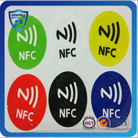 Cheap factory price PET paper iso14443a mobile payment nfc sticker