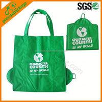 2014 non woven fold bag for shopper