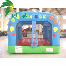 customized inflatable funny jumping box for kids/giant inflatable playgrounds