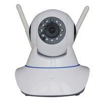 cellphone Control All In One IP Network Camera 1.3 Megapixel Wireless P2P IP Camera