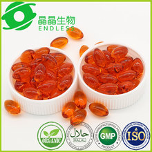 organic high quality Seabuckthorn fruit oil softgel nourish skin supplement