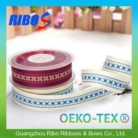 High Color Fastness Ribbon Rosette Trim