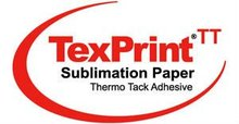 Sublimation Paper Roll + Thermo-Tack Adhesive Sublimation Paper + Roland,Mimaki,Mutoh& Epson Printer + Heat Press Machine