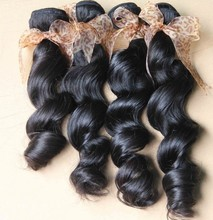 Factory wholesale 100% remy funmi human free hair weave for women