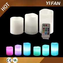 2015 Hot Sale Real Wax Material and Pillar Wax Candle