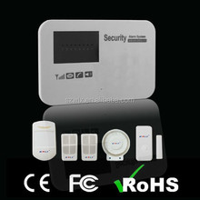 self monitoring wireless GSM security alarm system support APP&Android Function