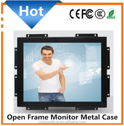 1280x1024 Resolution 17 inch Industrial Touchscreen Open Frame Monitor