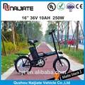 pequeño plegable bicicleta eléctrica con precio competitivo