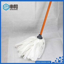 Non woven Material Mop White Color Good Water Absorbability Easy to Use